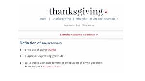 Thanksgiving Day Definition Healthpopuli Com