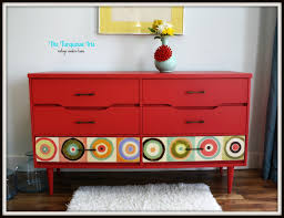 Painted Mid Century Furniture by We Could Get The Chest At Ikea And Do Some Painting Yes Judy