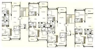 multi family house plans triplex multiamily house plans modern apartment india triplex narrow lot