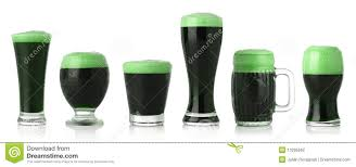 st patrick u0027s day green beer stock photography image 13295662