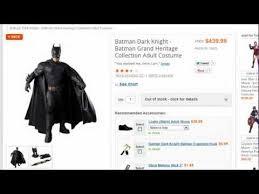 Batman Dark Knight Halloween Costume Buy Costumes Batman Dark Knight Batman Grand Heritage