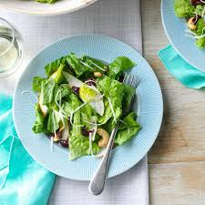 cashew pear tossed salad recipe taste of home
