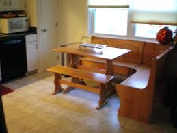 Kitchen Nook Bench by Amish Mission Breakfast Nook Set Corner Nook Bench With Storage