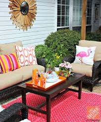 patio decor ideas colorful poolside seating by wicker
