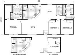 floor plan home redman homes modular homes the malibu 2864 01 1600 sf