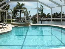 Tiki Hut Cape Coral Fl Excl Luxury Villa Top South Facing Pool Jacuzzi Wireless Boat