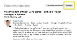 linkedin summary best practices what happened to linkedin recommendations intero advisory