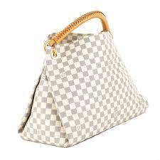louis vuitton artsy mm bag louis vuitton damier azur canvas artsy mm bag pre owned 3746017