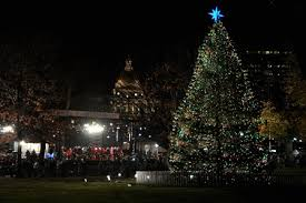 boston common tree lighting illuminates the san org