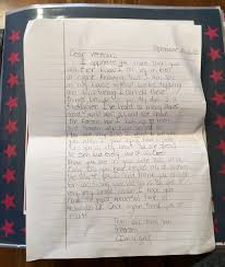 10 year old u0027s letter of thanks helps define veterans day