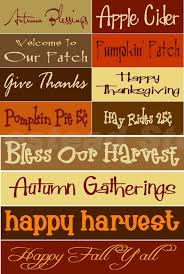 saying thanksgiving sign festival collections