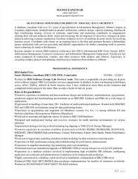 Sql Dba Resume Sample by Ctico Bombay India 10 94 12 97 Dba Responsibilities