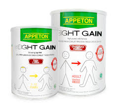 Appeton Weight Gain Remaja kami ada untuk anda we are there for you appeton weight gain