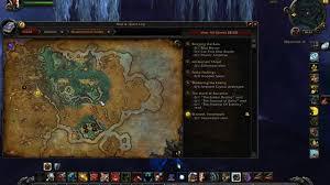 World Of Warcraft Map by Wod World Of Warcraft Treasure Finding Map Rovo U0027s Dagger