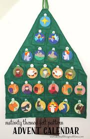 nativity advent calendar countdown to christmas with cheery advent calendar sewing patterns