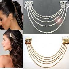 hair accessories online women s wedding hair accessories vintage gold silver chains fringe