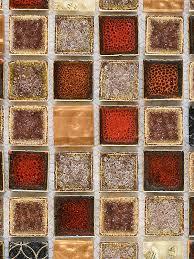 Resin Backsplash - red beige glass ceramic backsplash tile for kitchen backsplash com