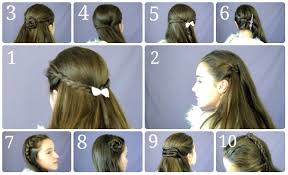 10 easy u0026 simple half up hairstyles for everyday youtube
