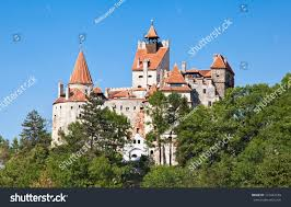draculas castle bran castle transylvania romania stock photo