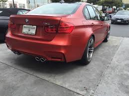 matte red bmw frozen red m3 spotted