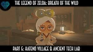 Lab Tech Meme - trickshot legend of zelda breath of the wild hateno village