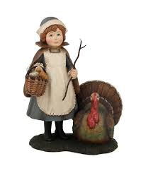 mazy with turkey figurine bethany lowe thanksgiving