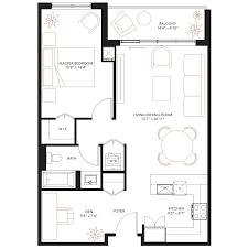 Den Floor Plan Floor Plans Monaco
