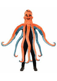 octopus halloween costume toddler octopus mascot costume