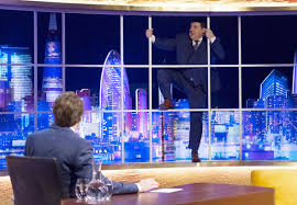 Daily Express News Desk Jonathan Ross Show Thrown Into Chaos As Peter Kay Destroys Set