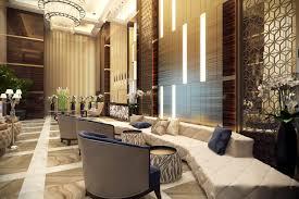 Luxury Lobby Design - commercial interior design rendering elegant luxury archicgi