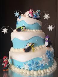 penguin baby shower penguin baby shower cake igloo cake snowflake cake topsy turvy