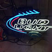 bud light neon light san diego chargers neon bud light sign the packrats den