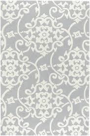 Silver Grey Rug Surya Cosmopolitan Cos 8828 Rugs Rugs Direct