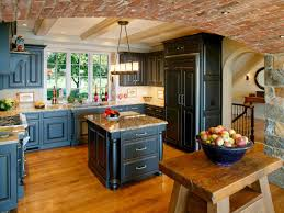 Rustic Painted Kitchen Cabinets by Distressed Painted Kitchen Cabinets Of Best Colors For Distressed