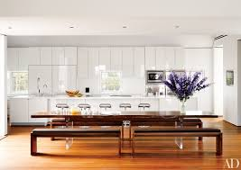 Living Room With Kitchen Design White Kitchens Design Ideas Photos Architectural Digest
