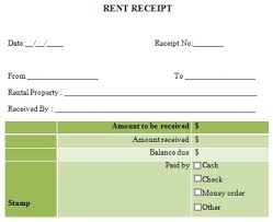 rent receipt template 10 free word u0026 excel templates demplates