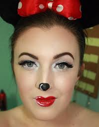 Eye Halloween Makeup by Minnie Mouse Halloween Makeup Tutorial Holidays Pinterest