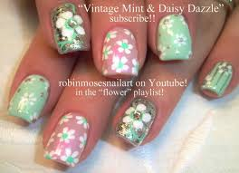 daisy nail art tutorials nail art for beginners vintage