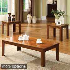 Table Sets Coffee Console Sofa  End Tables Shop The Best - Living room table set