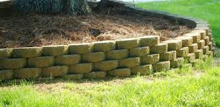 how to build a stackable block retaining wall today u0027s homeowner