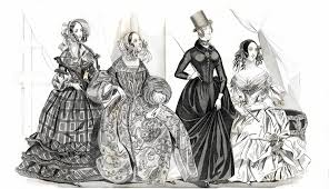 godeys book july 1840 godey s s book fashion plate fashion plate flickr