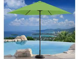 13 Patio Umbrella by Inside Out Enterprises 11 U0027 Rd Aluminum Market Umbrella Crank