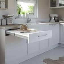 plan de travail escamotable cuisine kit tiroir plan de travail topflex castorama