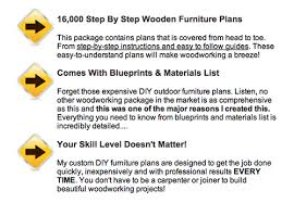 Outdoor Furniture Plans Pdf by Stiff90kmr