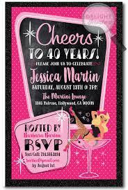 birthday girl pin pin up girl rockabilly 40th birthday party invitations di 417