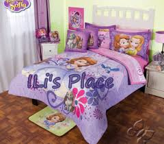 Sofia Bedding Set And Disney Princess Sofia The Comforter Set