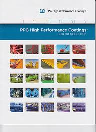 industrial coatings color charts