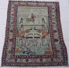 portrait figural style kerman rugs u0026 carpets