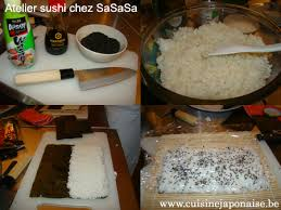 cours de cuisine sushi cours de cuisine japonaise chez sasasa le de cuisinejaponaise be