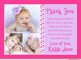 baby thank you cards mod baby girl thank you cards polka dots photo pink
